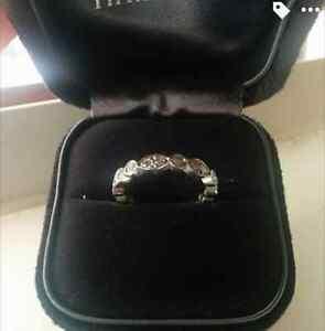 Tiffany Co. JAZZ Diamond and Platinum Ring