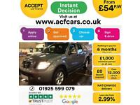 2015 GREY NISSAN NAVARA 2.5 DCI 4WD TEKNA CREW CAB PICK UP CAR FINANCE FR 54 PW