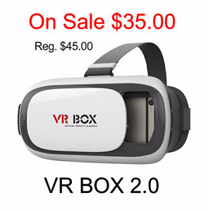 """On Sale"" VR Box 2.0 virtual reality 3D glasses (All Brand New)"