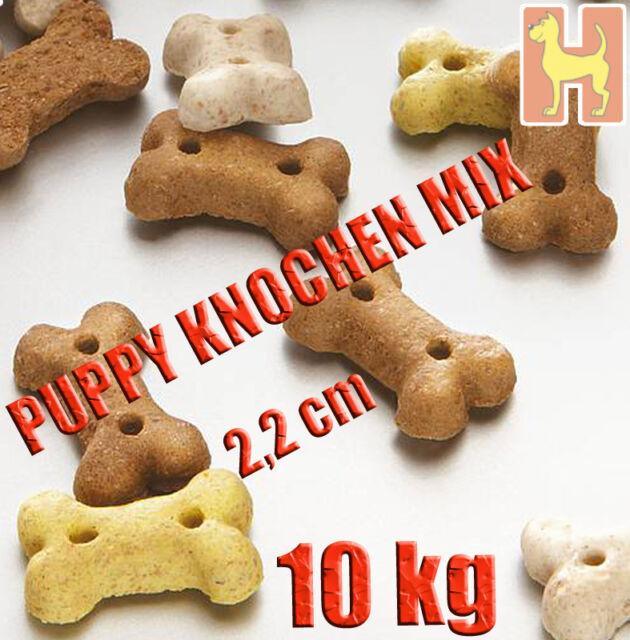 10kg Meradog Mera Dog Puppy Knochen Mix Hundekuchen Hundekekse Kausnack Leckerli