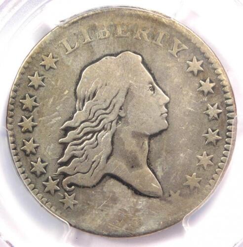 1795 Flowing Hair Bust Half Dollar 50C - Certified PCGS Fine Detail - Rare Coin!