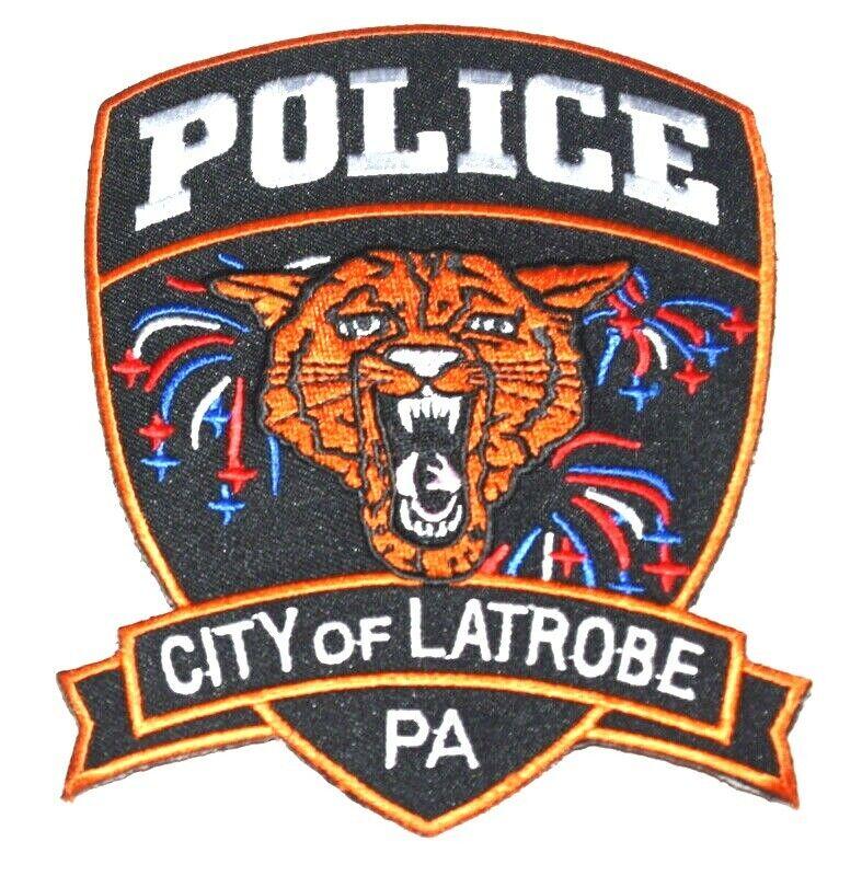 LATROBE PENNSYLVANIA PA Sheriff Police Patch WILDCAT TIGER ~