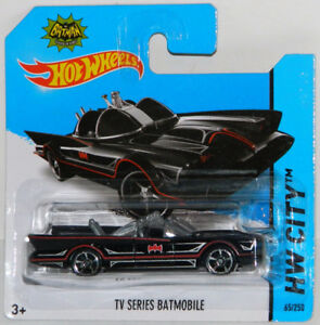 Hot Wheels 1/64 '66 TV Series Batman Batmobile Diecast Car