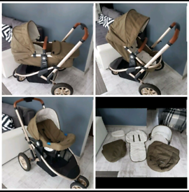 Pram 3 in 1 Mothercare Special Edition Travel System Pushchair