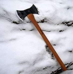 Looking for a double bit axe
