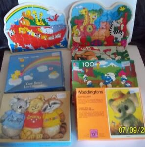 Children's Jigsaw Puzzles - Smurfs - Care Bears and more