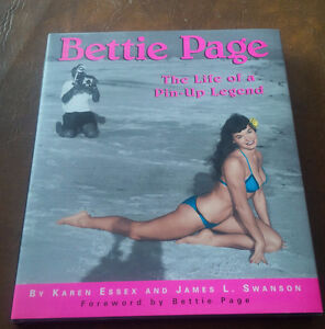 Book: Bettie Page, Life of a Pin-Up Legend, 1996