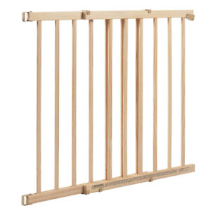 *New In Box* Evenflo Top of Stair Extra Tall Gate - Wood