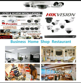 HIKVISION BRANDED CCTV SECURITY CAMERA SYSTEMS 5MP HD & 8MP 4K UHD SM