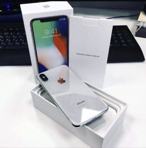 OPEN BOX 64G SILVER IPHONE X $600 DELIVERED TO YOUR DOOR EXPRESS