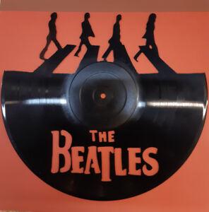 Novelty Vinyl Record Cut-Out Art Pieces