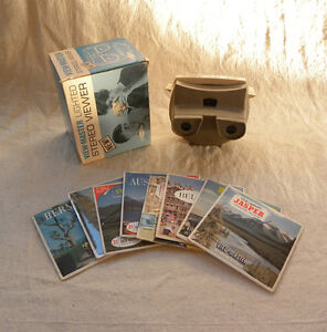 View Master Stereo viewer with slides