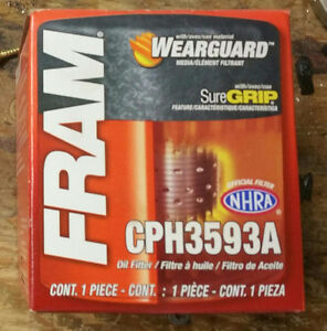 Fram Oil Filter and tool