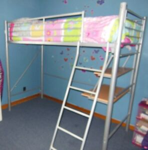 LOFT BED FRAME (TWIN/SINGLE) - $120 O.B.O.