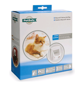 PetSafe Staywell Deluxe Magnetic Cat Flap White, new