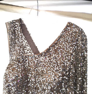 Sherri Hill size 10 sequin gown Windsor Region Ontario image 2