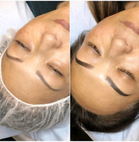 Microblading $250/ Lash extension starting $69