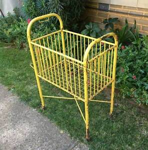 Antique Cast Iron Tiny Cot Deakin South Canberra Preview