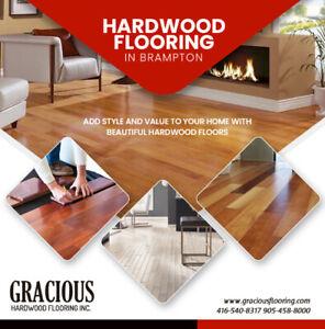 Hardwood flooring in Brampton