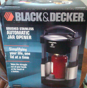 BLACK & DECKER AUTOMATIC JAR OPENER