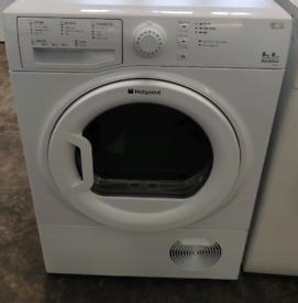 £130 Hotpoint 8KG Condenser Tumble Dryer - 6 Months Warrant
