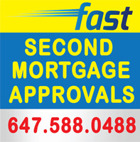 Second Mortgage & Private Mortgage — Low Rates! Fast Closing!