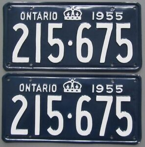 Vintage YOM License Plates For Your Classic Car- MTO Guaranteed!