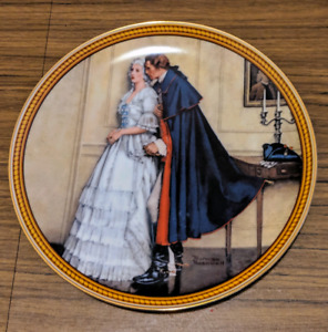 Authentic Norman Rockwell Collector Plate