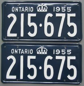 Classic Car YOM License Plates - Ministry Approval Guaranteed Kitchener / Waterloo Kitchener Area image 8