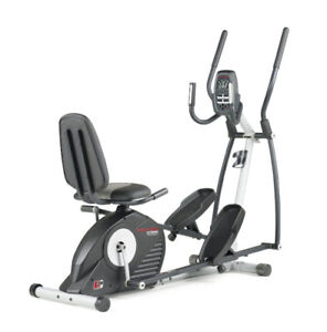 Recumbent/Elliptical Cross Trainer