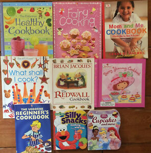 COOKING WITH KIDS Cookbooks $4 each or all 9 for $25