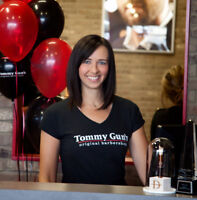 Tommy Gun's in the NW now hiring RECEPTIONISTS