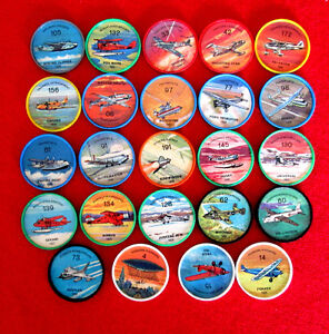 Jello Airplane Coins Lot of 24