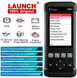 OBD2 Launch  Scanner with 6 Resets