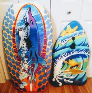 Planche surf mousse, Body surf