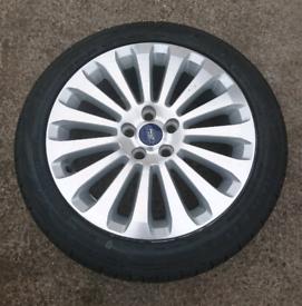 New Ford Focus Mk2 Titanium Alloy Wheel & Tyre 2008-2010