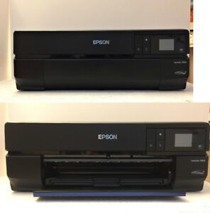 Epson SureColor SC-P800 Printer, roll paper adapter & papers