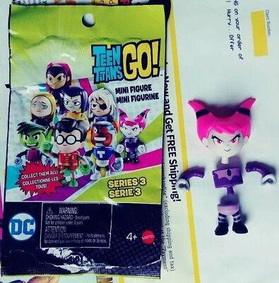 Teen Titans Go! Series 3  Jinx Blind Bag Mini Figure New Unassembled w/ Pckg