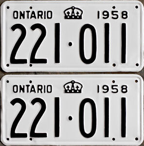 YOM Licence Plates For Your Old Auto - Ministry Guaranteed! Peterborough Peterborough Area image 7