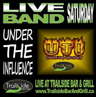 Live Band Saturday - Trailside presents Under The Influence