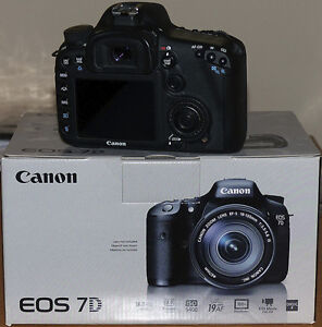 As new Canon EOS 7D Mark 1 body with add-ons London Ontario image 2