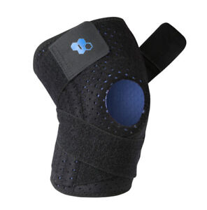 Knee brace (two) with cross strapping for added support