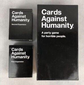 Cards Against Humanity Base Set Card Game With First and Second