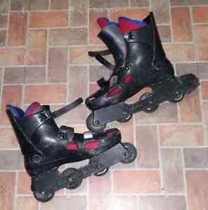 2 patin à roulettes pour unisexe  prix négociable  Gatineau Ottawa / Gatineau Area image 2