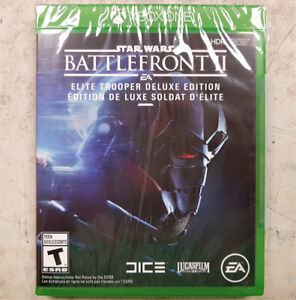 BattleFront II Elite Trooper Xbox One Game - NEW