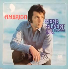 Herb Alpert - America. Vinyl LP Record Album.