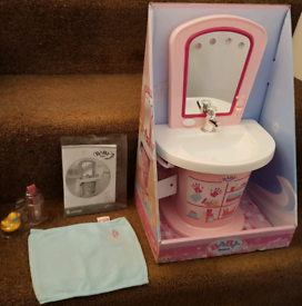 Pink Baby Born Interactive Sink - (Complete) Zapf Creation Age 3+