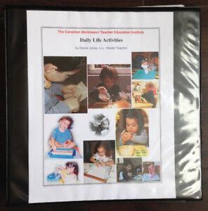 Books for The Canadian Montessori Teacher Education Institute