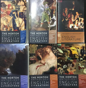 The Norton Anthology of English Literature Volumes A-F