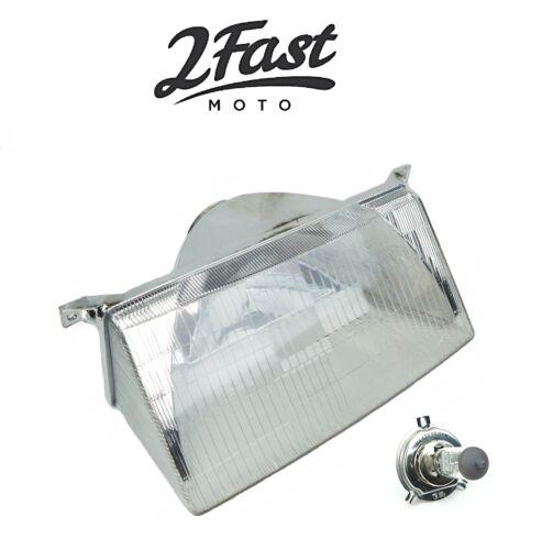 2FastMoto Ski Doo Snowmobile Headlight Headlamp Housing with H4 Halogen Bulb